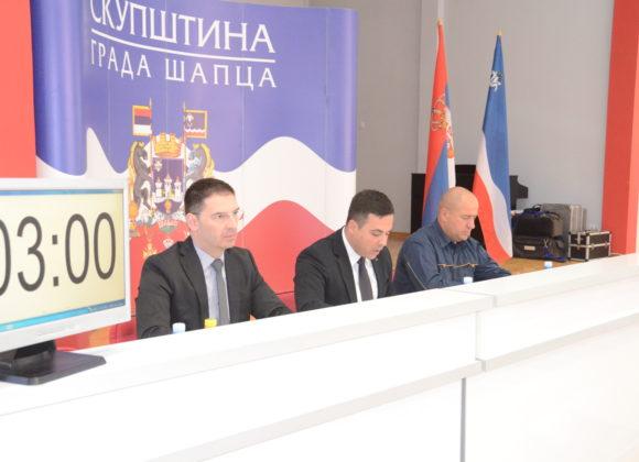 25. седница Скупштине града Шапца