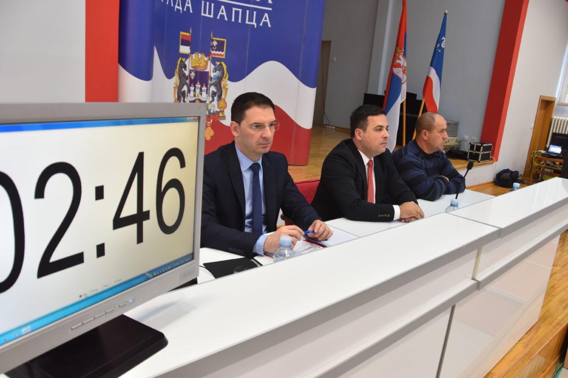 Сутра 27. седница Скупштине града Шапца