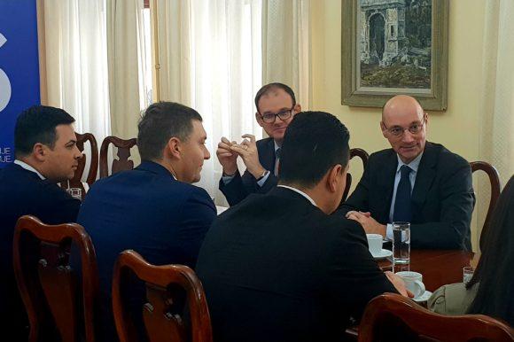 Амбасадор Француске у посети Шапцу