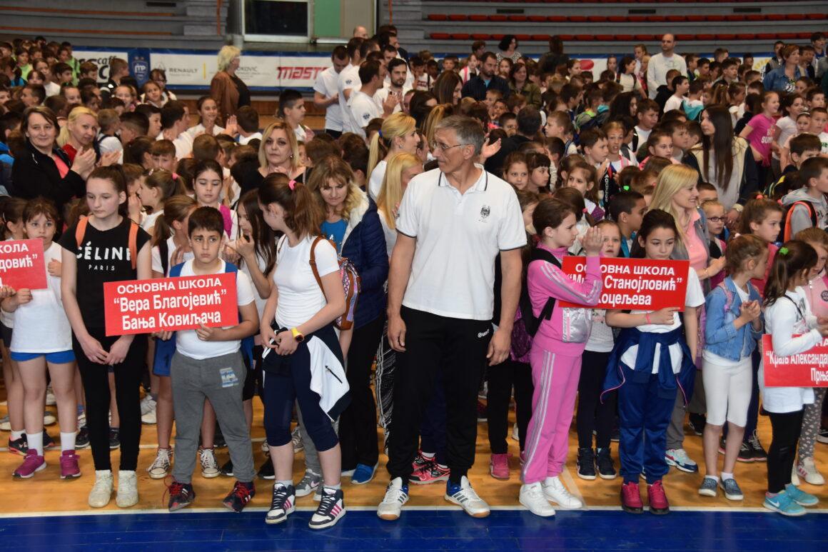 Спорт у школе – расти здраво!