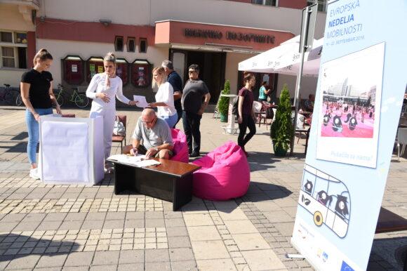 Почела Европска недеља урбане мобилности у Шапцу