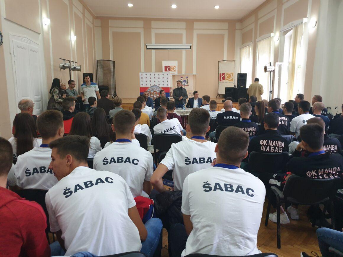 Пријем за учеснике Игара младих у Анкони