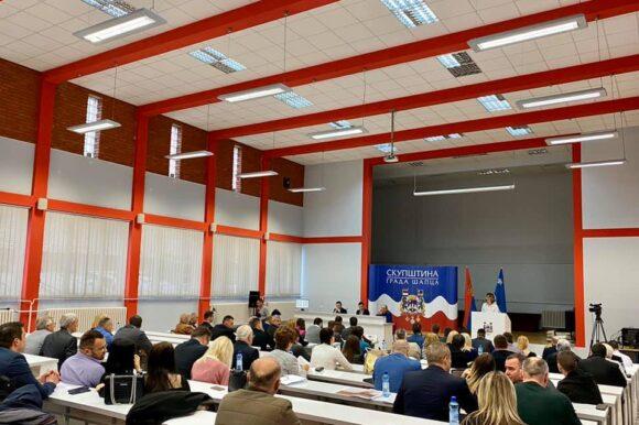 Одржана 40. седница Скупштине града Шапца