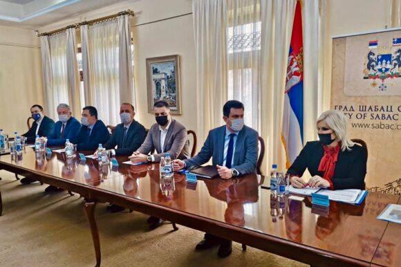 Министарка рударства и енергетике проф. др Зорана Михајловић посетила град Шабац