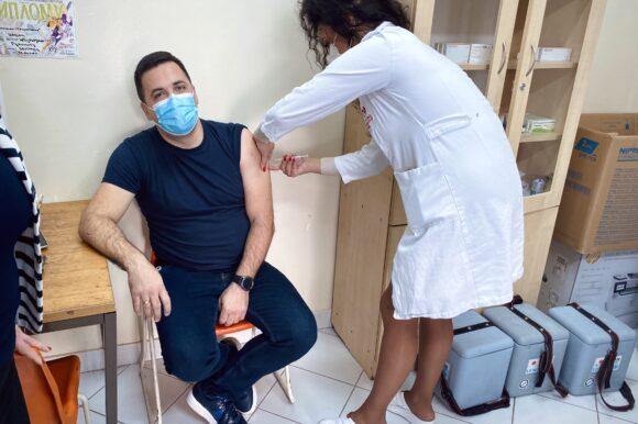 Председник Скупштине града Шапца примио вакцину против вируса Ковид-19