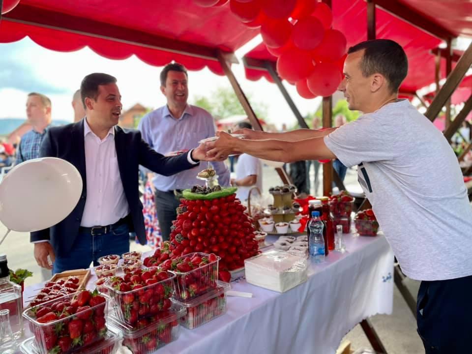 У Цуљковићу одржан 3. Фестивал јагода