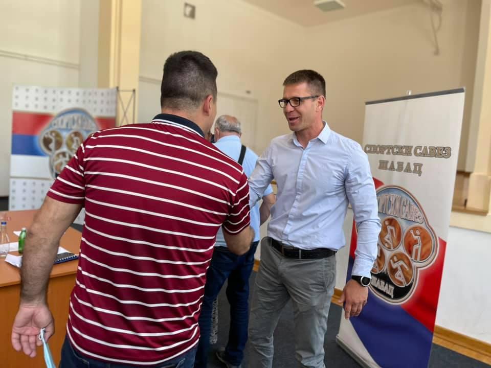 Милан Ђенадић изабран за председника Спортског савеза Шабац