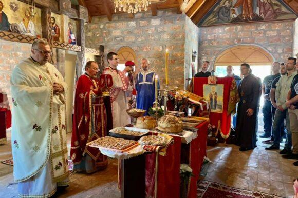 Црква Светог Јована Шангајског на Церу обележила славу