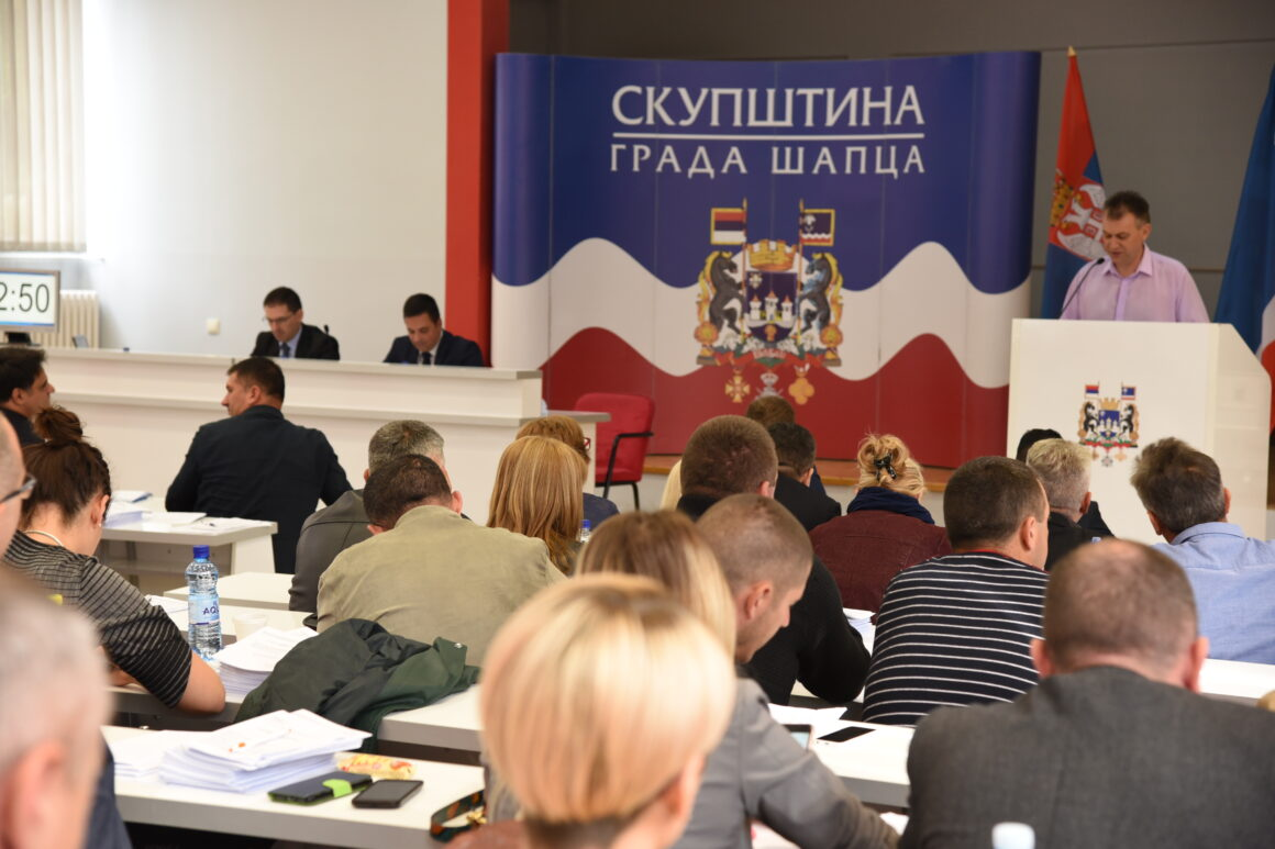 Одржана 35. седница Скупштине града Шапца
