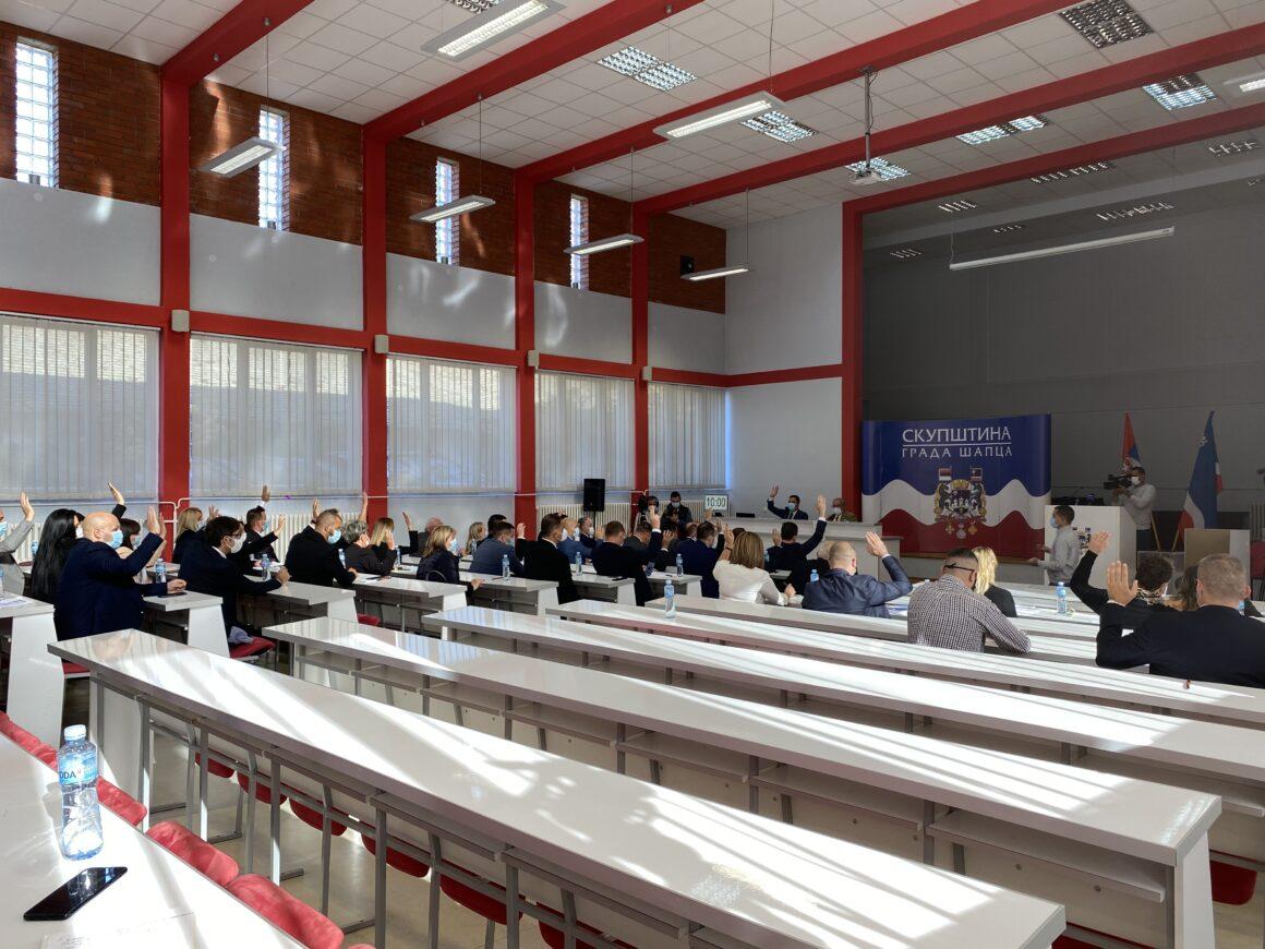 Koнститутивна седница новог сазива Скупштине града Шапца