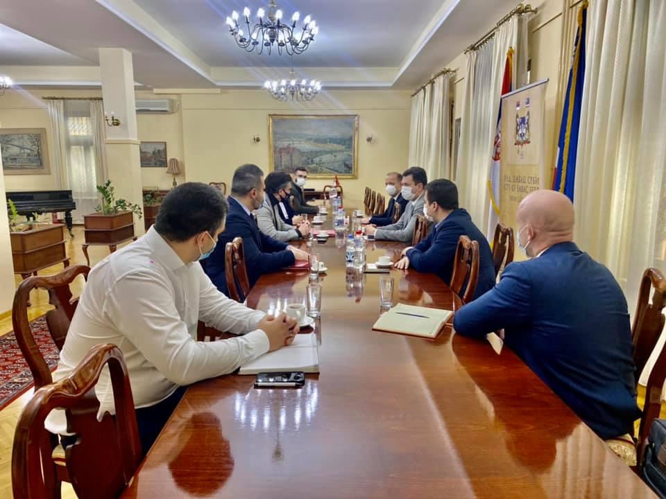 """Оджан састанак са делегацијом менаџмента компаније """"Јазаки"""""""