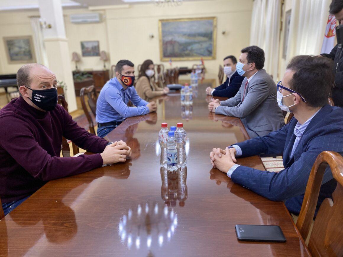 Представници Спортског савеза Србије у посети Шапцу