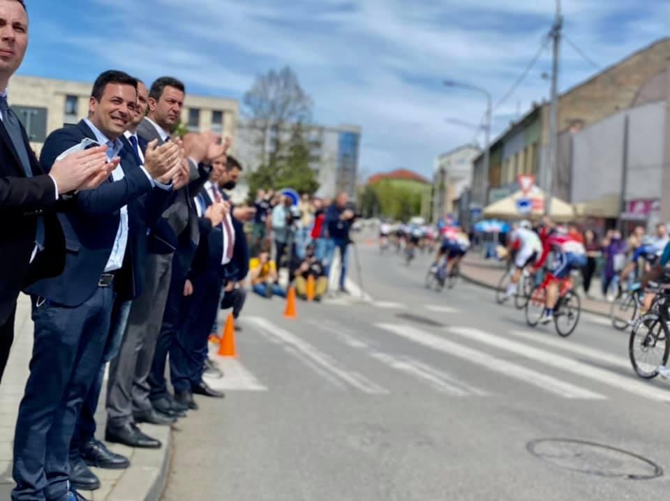 Етапни циљ бициклистичке трке Београд – Бањалука поводом Дана града у Шапцу